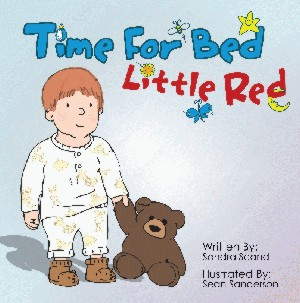 Book Cover of Time For Bed Little Red