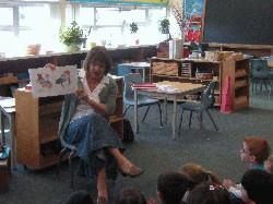 Reading at Sunshine Montessori School